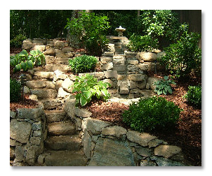 Landscape Design and Retaining Walls
